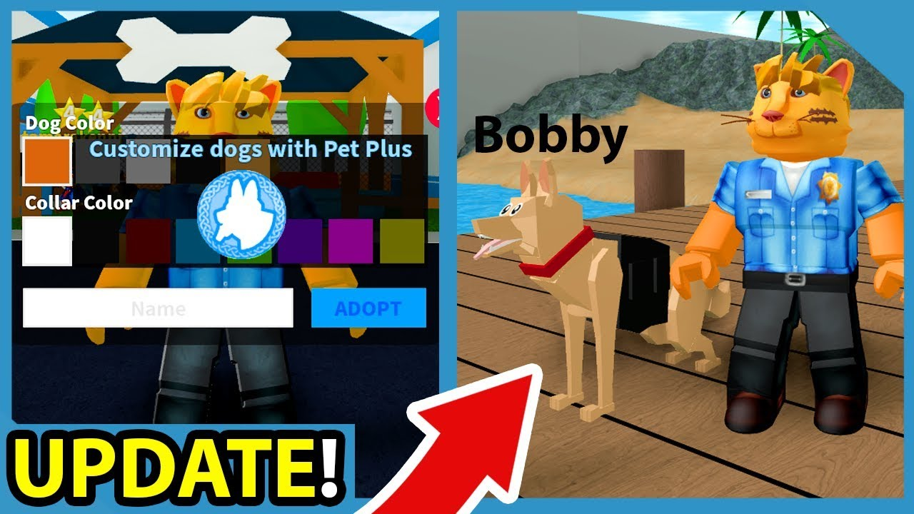 Denis Roblox Jailbreak New Glider Update New Roblox Mad City Police Dogs Update Youtube Cute766