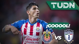 Alan Pulido anota el segundo para remontar| Chivas 2 – 1 Pachuca | Liga Mx – Ap 2019 – J11 | TUDN