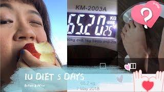 IU Diet 5 Days