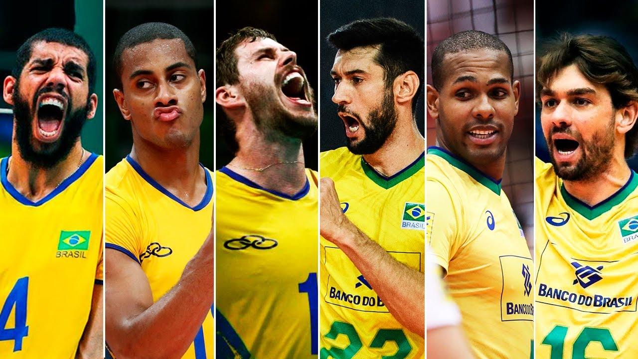 HIGHLIGHTS | Brazil vs Great National Teams | VNL 2019