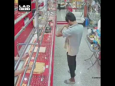 Funny robber - Cướp tiệm vàng hài hước