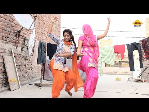 Haryanvi Dance || गांव की बहु के साथ ननद का डांस सुपर हिट है || Haryanvi New Song 2019