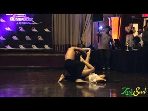 Aline Cleto & Charles Espinoza Performance Zouk Soul at LA Zouk & Kizomba Congress