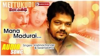 Mana Madurai Song | Mettukudi Tamil Movie Songs | Karthik | Nagma | Sirpy | Music Master