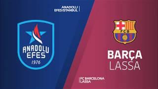 #EuroLeague #Playoff 5. Maç: Anadolu Efes - Barcelona Lassa
