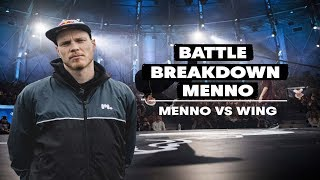 Battle Breakdown with Ronnie and Menno | Menno VS Wing | Red Bull BC One World Final 2017