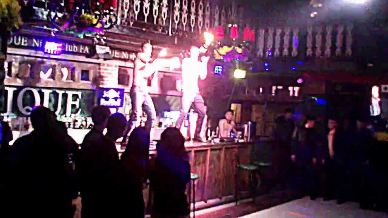 секретная камера в клубе