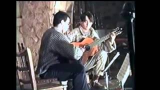 Tocando Yupanki...1993 en Santa María del Mercado en Alburquerque
