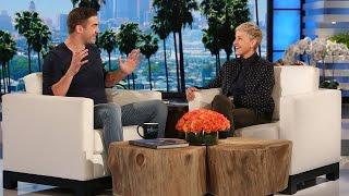 Ellen Meets the Inspiring Lewis Howes