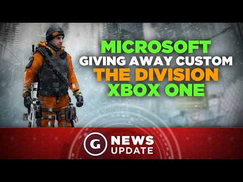 Microsoft Giving Away Custom The Division Xbox One - GS News Update