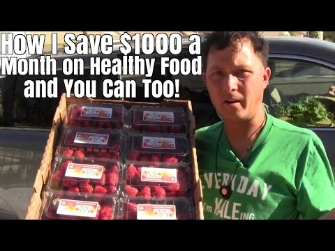 How I Save $1000+ a Month on Healthy Food and You Can Too