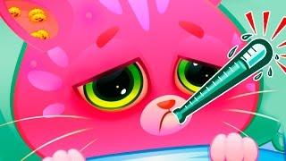 КОТЕНОК КАТЯ ЗАБОЛЕЛА маленькая мисс кошечка виртуальный питомец БУБУ #51 Видео для детей ПУРУМЧАТА