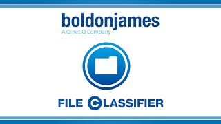 Boldon James - File Classifier
