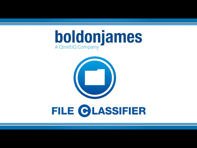 Boldon James | File Classifier
