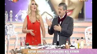 Ahmet Maranki Seda sultan programında astım için kür açıklıyor