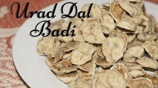 Urad Dal Badi / Wadi - TheGreatIndianTaste.com