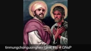 Ngày 03.05: Kính hai thánh Philipphê và Giacôbê Tông Đồ