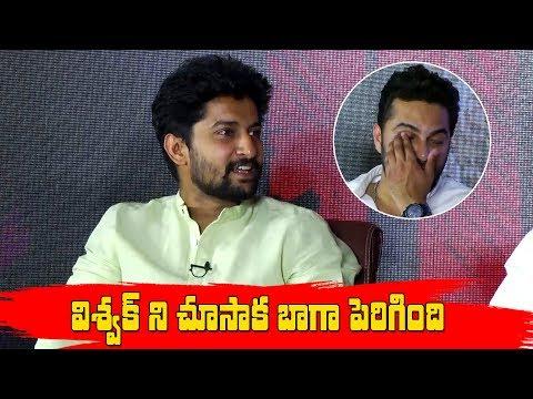 Nani Comments on VishwakSen || HIT Team FUNNY INTERVIEW | Nani | Vishwak Sen | RuhaniSharma