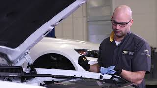 homepage tile video photo for Multi-point Vehicle Inspection | Chevrolet Certified Service