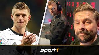 Sprachnachricht an Klaas! Kroos meldet sich mitten im Spiel | SPORT1 - DER TAG