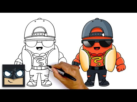 How To Draw The Brat 🌭  Fortnite