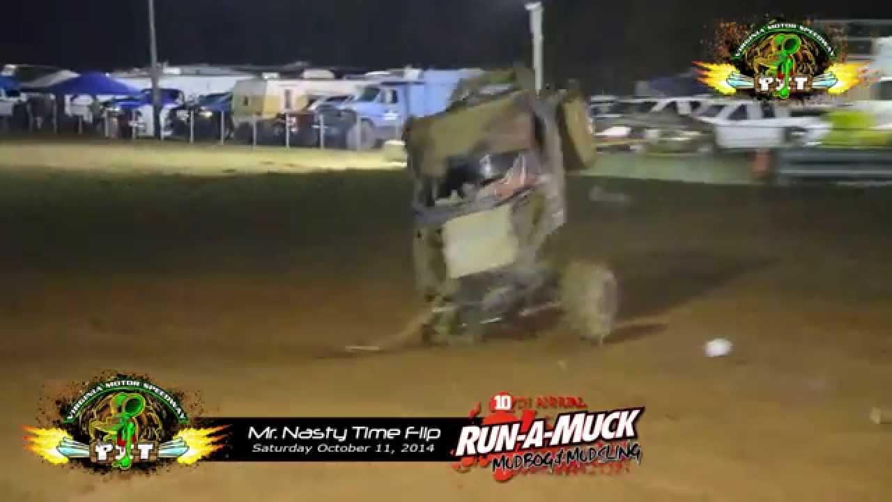 Mr Nasty Time Flip at The Pit at Virginia Motor Speedway 101114