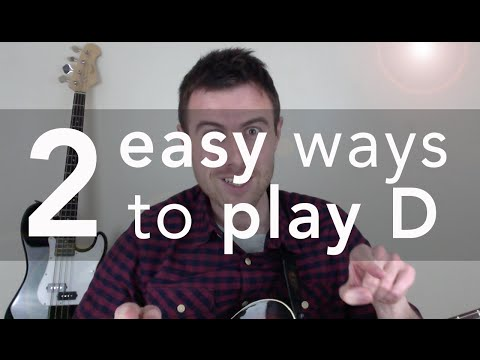 2 Super-Easy Ways To Play The D Chord On Guitar