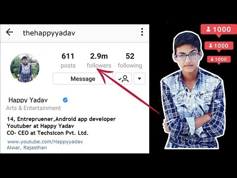 Increase Unlimited Real Instagram Followers By App In 2019. How To Gain Instagram Followers