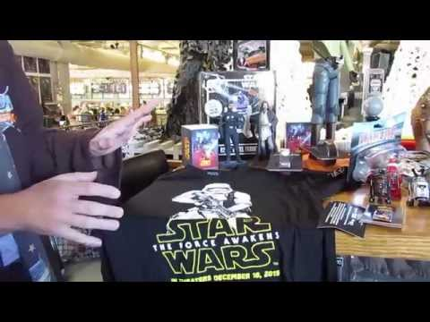 Star Wars Weekends Mechandise - New Items for 2015