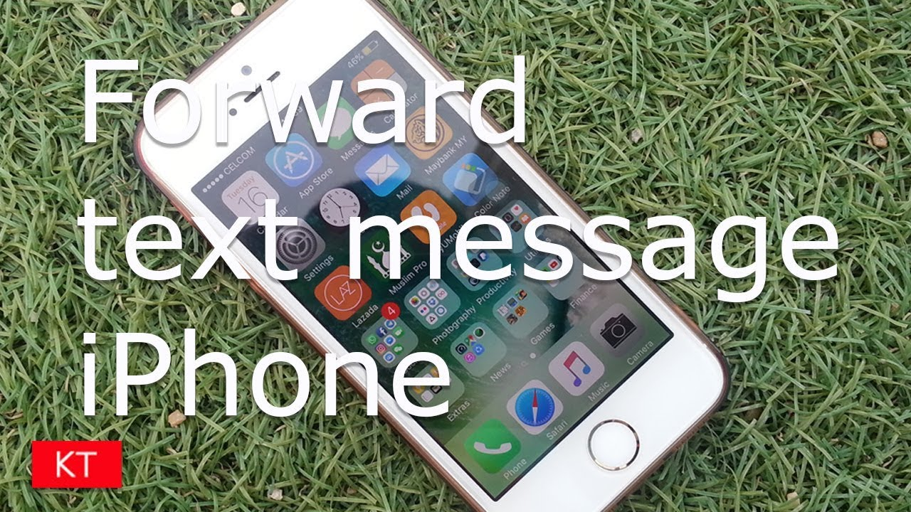 how to forward a text iphone 6