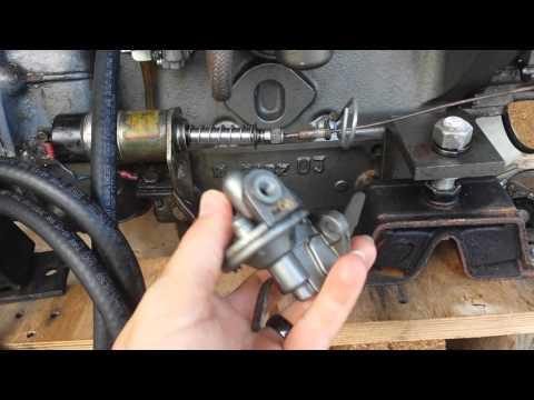 Yanmar 3HM35F fuel priming/lift pump explained