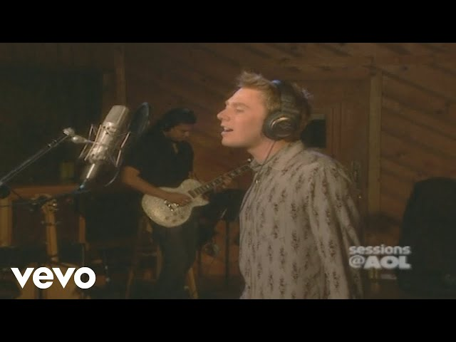 Clay Aiken - I Will Carry You (Sessions @ AOL 2003)