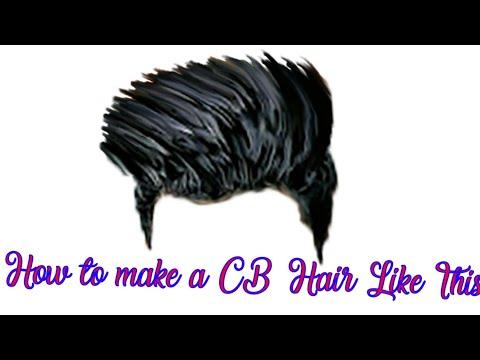 How to make a CB hair Like This  Royal CB editer