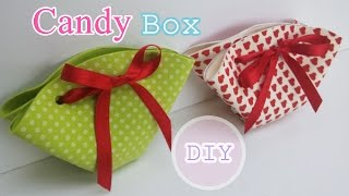 Colorful Sweet Candy Box - very easy!  Ana | DIY Crafts