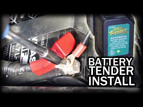 How to Install Battery Tender on Motorcycle