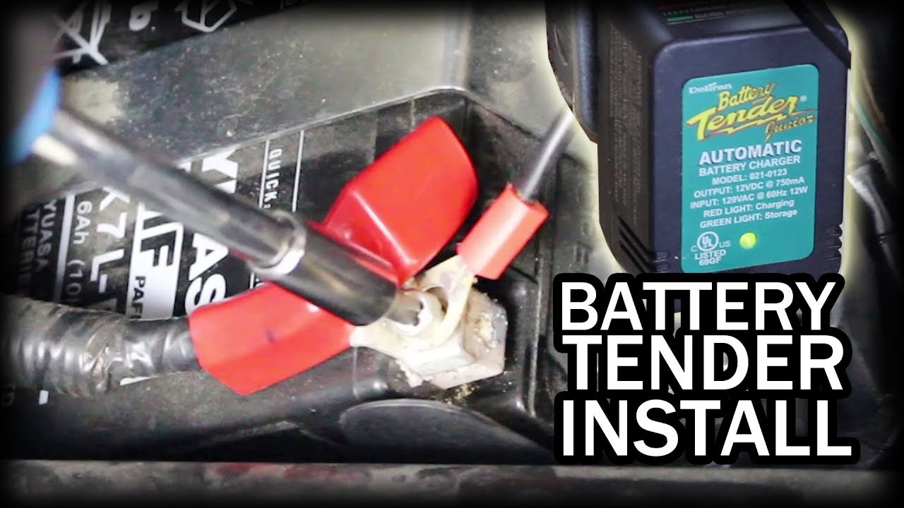 How to Install Battery Tender on Motorcycle Harley Davidson Battery Tender Harness Wire on