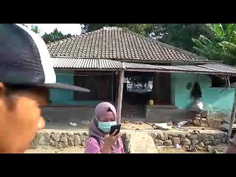 Keadaan rumah warga setelah gempa bumi di lombok ntb