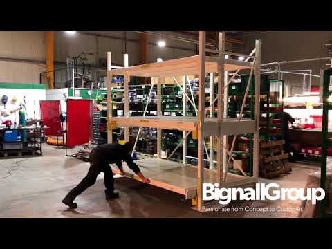 Want to see how Bignall Group solved a major industry problem with industrial storage?