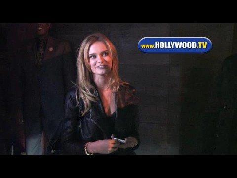 Sara Paxton At Nobu In West Hollywood.