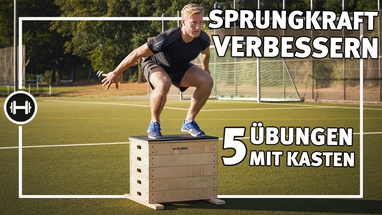 Sprungkraft Trainieren Mit Kasten übungen Workouts Sport Thieme