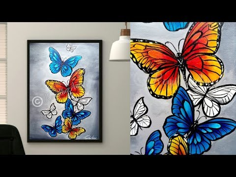 Easy Butterfly Painting Ideas For Beginners Discover The Joy Of Painting With These Easy Watercolor Painting Ideas For Beginners