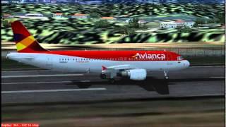 Avianca Aterrizaje Pereira Colombia