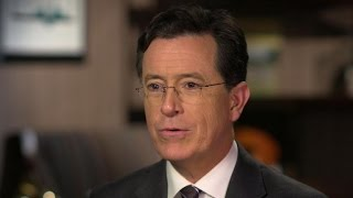 "Stephen Colbert: Donald Trump ""knows who the real audience is"""