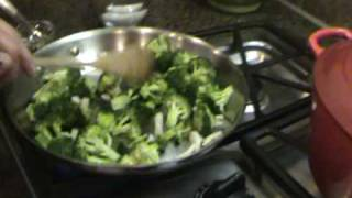 Chef Karen Whips Up A Healthy Broccoli Side Dish