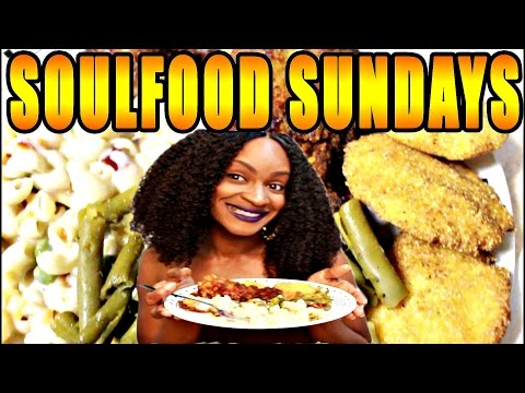 ASMR/MUKBANG: SOUL FOOD SUNDAY'S! SOUTHERN FRIED CHICKEN & SIDES! COOK WITH ME! EAT WITH ME! YUMMY!