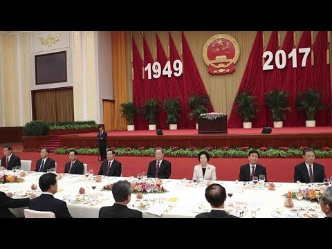 State Council holds banquet to celebrate 68th anniversary of the founding of P.R. China