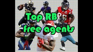 Top NFL RB free agents for the Chicago Bears