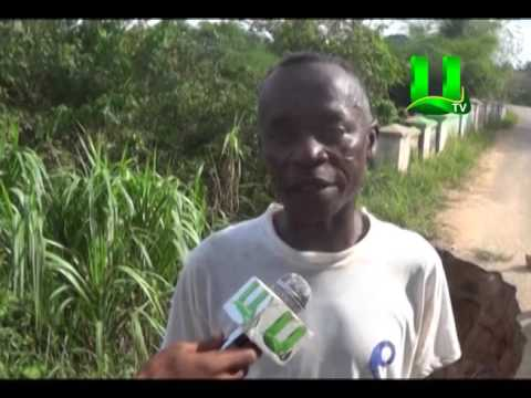 Ajumako Ochiso Bridge Poses Danger To Motorists
