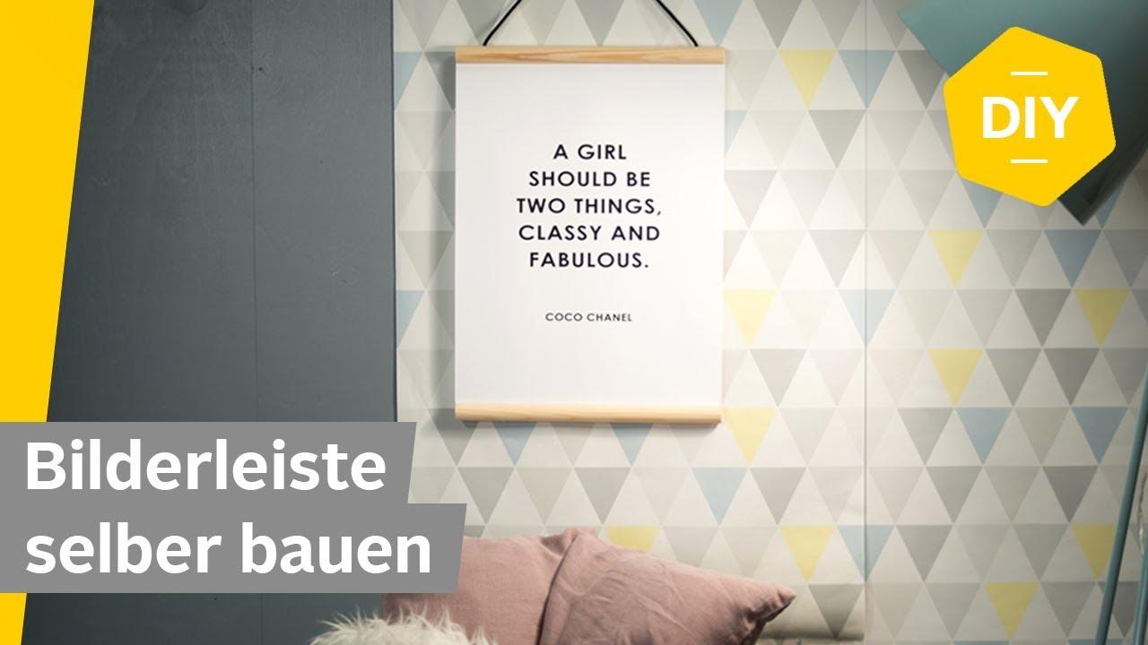 diy bilderleiste im scandi stil selber bauen roombeez powered by otto youtube. Black Bedroom Furniture Sets. Home Design Ideas
