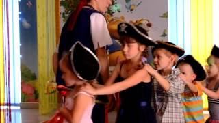 Пираты в День Рождения в детском клубе Пещера Сказок
